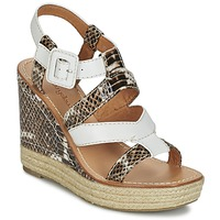 Shoes Women Sandals Mellow Yellow VANAIS White / Brown