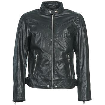 material Men Leather jackets / Imitation le Diesel L-REED Black