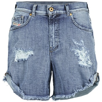 material Women Shorts / Bermudas Diesel DE SCOTT Blue
