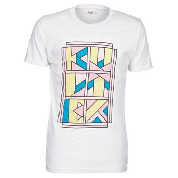 material Men short-sleeved t-shirts Kulte ANATOLE BLOCK White