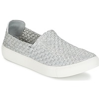 Shoes Women Low top trainers Moony Mood ESMINE Silver