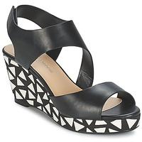 Shoes Women Sandals Moony Mood EPALINE Black