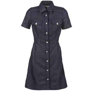 material Women Short Dresses Manoush JEAN Blue