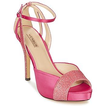 Shoes Women Sandals Menbur ARENALES Pink