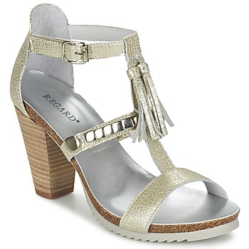 Shoes Women Sandals Regard ROKOLO Platinum