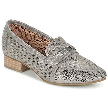 Shoes Women Loafers Mam'Zelle QUEM Grey / Pewter