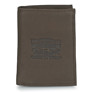 Bags Men Wallets Levi's VINTAGE TWO HORSES VERTICAL Brown