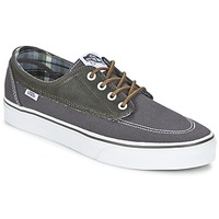 Shoes Men Low top trainers Vans BRIGATA Grey / Kaki