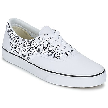 Shoes Low top trainers Vans ERA Bandana / White / Black