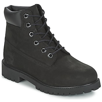 Shoes Boy Mid boots Timberland 6 IN PREMIUM WP BOOT Black