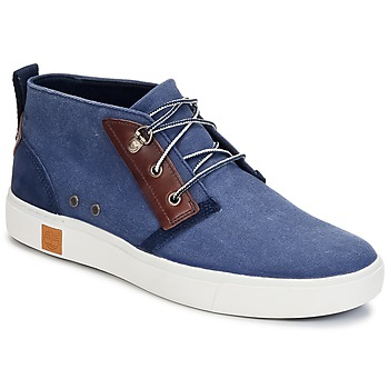 Shoes Men High top trainers Timberland AMHERST CHUKKA Blue
