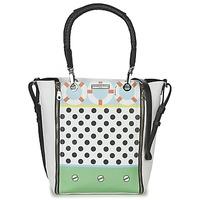 Bags Women Shoulder bags Barbara Rihl CO IN BALI ZIPPER MED White / Multicoloured