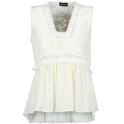 material Women Tops / Sleeveless T-shirts Kookaï VACHOVA White