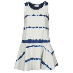 material Women Short Dresses Eleven Paris LISBET Blue