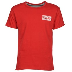 material Men short-sleeved t-shirts Wati B WATI CREW Red