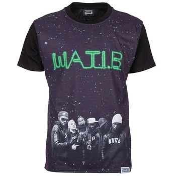 material Men short-sleeved t-shirts Wati B STARS Black