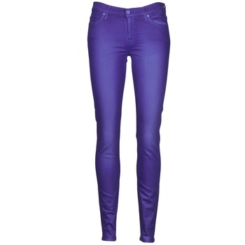 material Women slim jeans 7 for all Mankind THE SKINNY VINE LEAF Blue