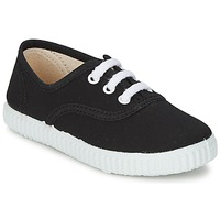 Shoes Children Low top trainers Citrouille et Compagnie KIPPI BOU Black