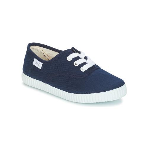 Shoes Children Low top trainers Citrouille et Compagnie KIPPI BOU Marine