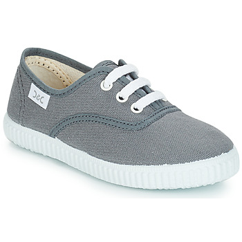 Shoes Children Low top trainers Citrouille et Compagnie KIPPI BOU Grey