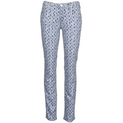 material Women straight jeans Lee MARION STRAIGHT Printed / Blue