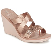 Shoes Women Sandals Grendha PARADISO II PLAT Pink / Metallic