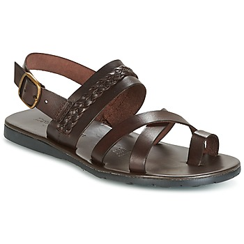 Shoes Men Sandals Dream in Green MORRIT Brown