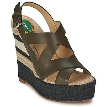 Shoes Women Sandals Etro 3948 Brown