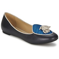 Shoes Women Ballerinas Etro 3922 Blue