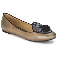 Shoes Women Ballerinas Etro 3922 Gold