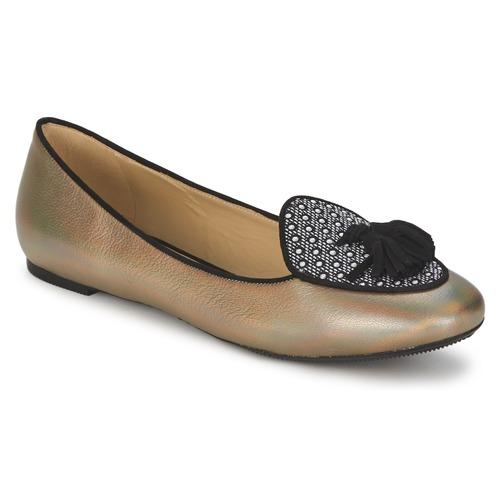 Shoes Women Ballerinas Etro 3922 Gold