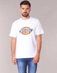material Men short-sleeved t-shirts Dickies HORSESHOE White