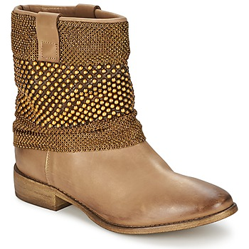 Shoes Women Mid boots Strategia MAILLETT Gold