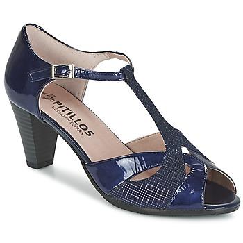 Shoes Women Sandals Pitillos MARILOU MARINE
