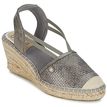 Shoes Women Sandals Mustang LIMBERT Silver