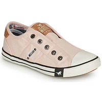 Shoes Girl Low top trainers Mustang SHAYAN Pink