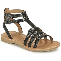 Shoes Girl Sandals Shwik LAZAR BUCKLE Black