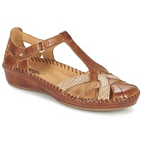 Shoes Women Sandals Pikolinos PUERTO VALLARTA 655 CAMEL