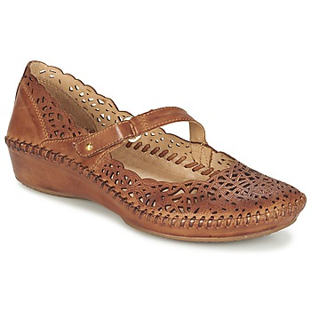 Shoes Women Ballerinas Pikolinos PUERTO VALLARTA 655 CAMEL