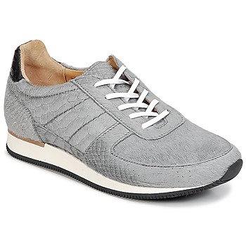 Shoes Women Low top trainers Fred de la Bretoniere JACQUES Grey