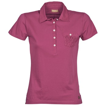 material Women short-sleeved polo shirts Napapijri EZE Pink