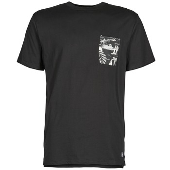 material Men short-sleeved t-shirts DC Shoes WOODGLEN Black