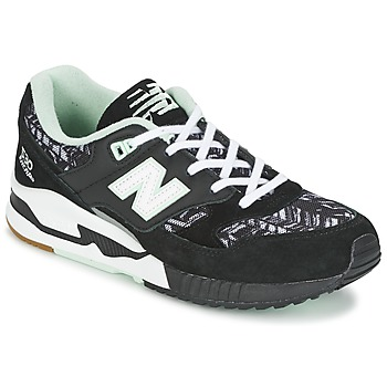 Shoes Women Low top trainers New Balance W530 Black / White