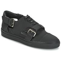 Shoes Men Low top trainers John Galliano 7813 Black