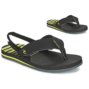 Shoes Children Flip flops Rip Curl THE ONE GROMS Black / Yellow