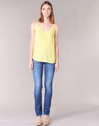 material Women straight jeans Pepe jeans GEN Blue / D45