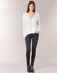material Women slim jeans Pepe jeans SOHO S98 / Black