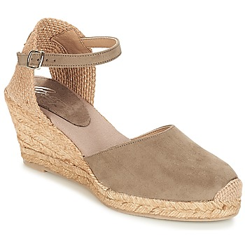 Shoes Women Sandals Betty London TECHNO TAUPE