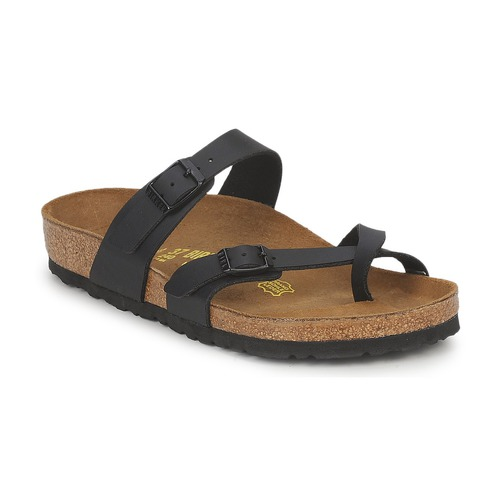Shoes Women Flip flops Birkenstock MAYARI Black