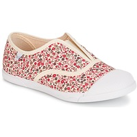 Shoes Girl Low top trainers Citrouille et Compagnie RIVIALELLE Ecru / Multicoloured